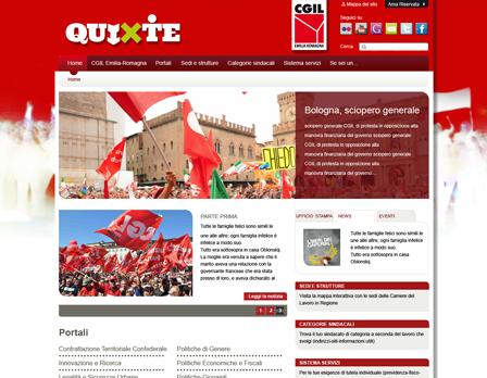 cgil quixte sito web