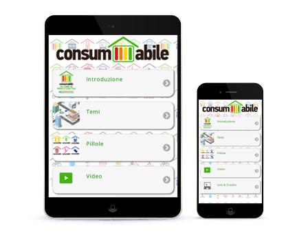 consumabile app - Redesign Agenzia Comunicazione Bologna