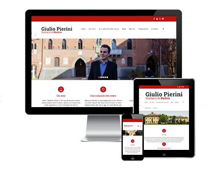 giulio pierini sindaco di Budrio - Redesign Agenzia Comunicazione Bologna