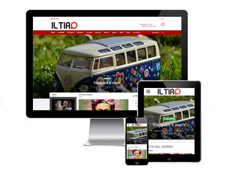 il tiro magazine - Redesign Agenzia Comunicazione Bologna