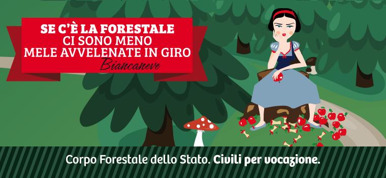 Forestale forever - Redesign agenzia comunicazione