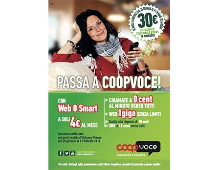 CoopVoce Redesign Agenzia Comunicazione Bologna