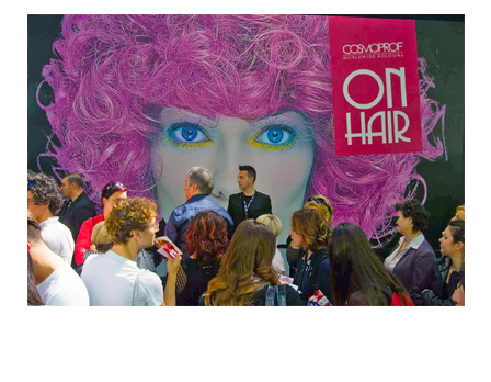 Cosmoprof on hair