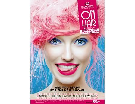 cosmoprof on hair - Bologna marzo 2017 - Redesign Agenzia Comunicazione Bologna