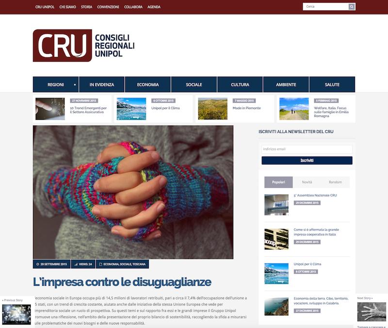 Cru Unipol Redesign Agenzia di Comunicazione Bologna