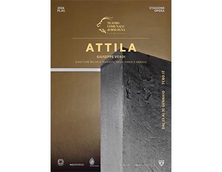 Attila - Teatro Comunale Bologna Redesign Agenzia Comunicazione Bologna