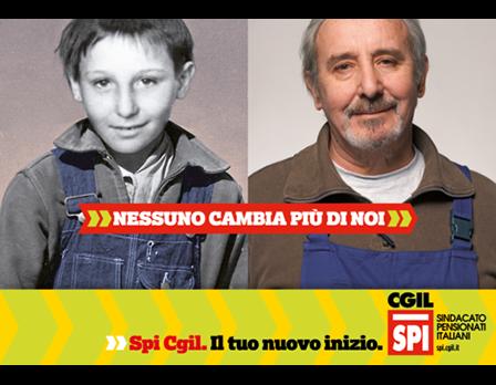 SPI CGIL nessunocambiapiudinoi Redesign Agenzia Comunicazione Bologna