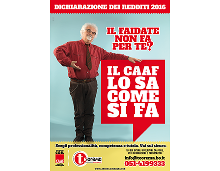 Caaf ER 730 precompilato 2016 - Redesign Agenzia Comunicazione Bologna