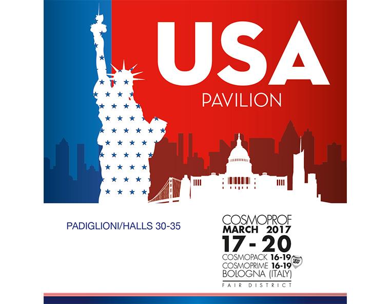Cosmoprof 2017 USA Pavilion - Redesign agenzia di comunicazione Bologna
