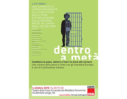 FP CGIL convegno carceri - Redesign Agenzia Comunicazione Bologna
