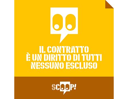 FP CGIL Scoop - Redesign agenzia di comunicazione Bologna