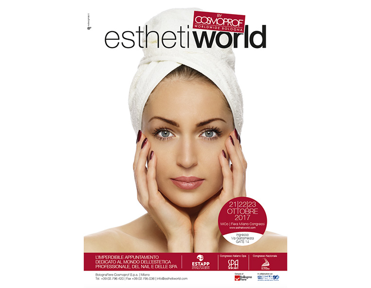 Esthetiworld 2017 - Redesign agenzia di comunicazione Bologna