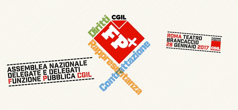 effepiu asssemblea nazionale 2017 - FP CGIL - Redesign Agenzia Comunicazione Bologna