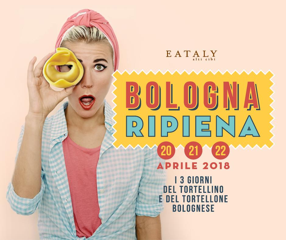 Eataly Bologna Ambasciatori Bologna Ripeina Redesign agenzia comunicazione Bologna