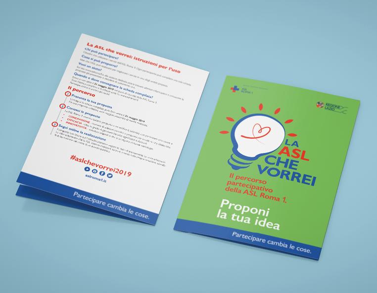 ASL Roma Redesign Agenzia Comunicazione Bologna