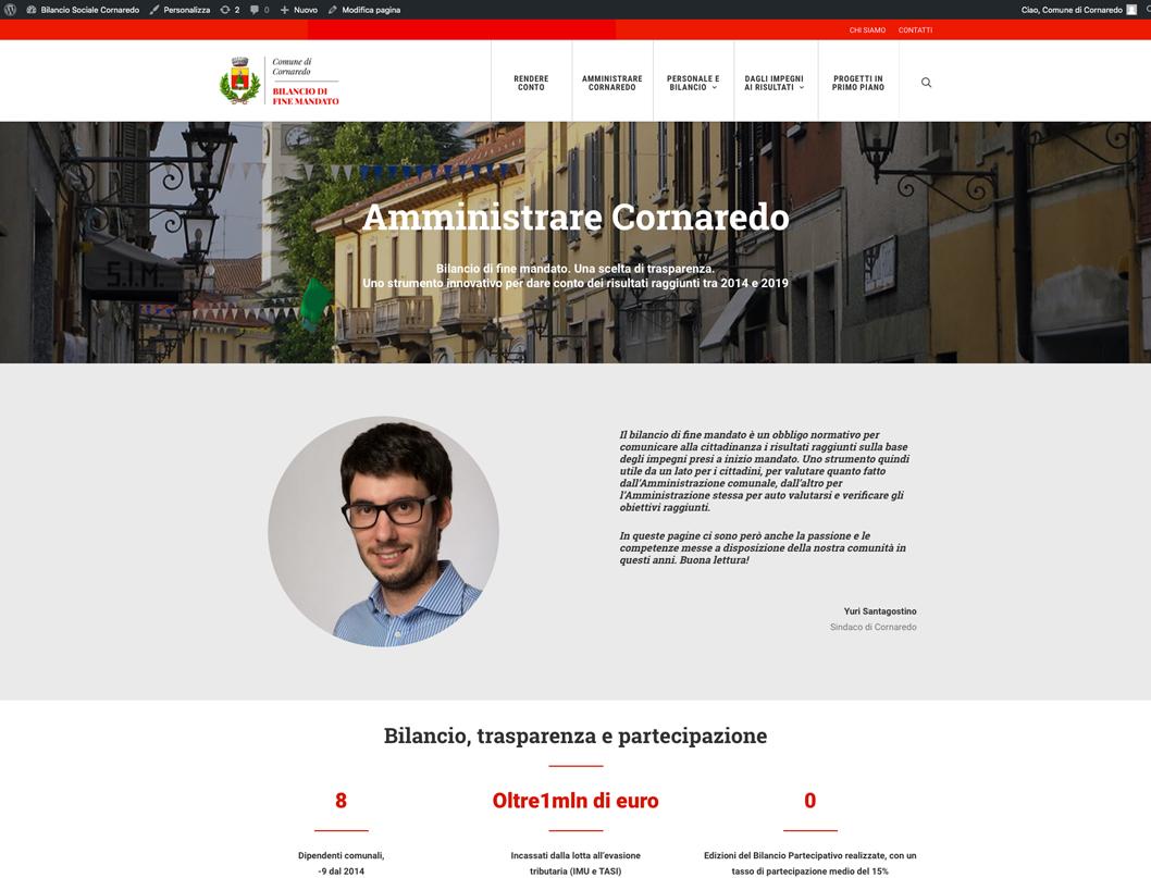 Bilancio Sociale Cornaredo Redesign Comunicazione Bologna