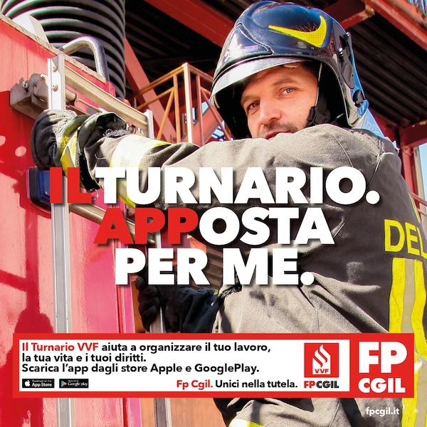 Redesign Agenzia Comunicazione Bologna Vigili del Fuoco FP CGIL