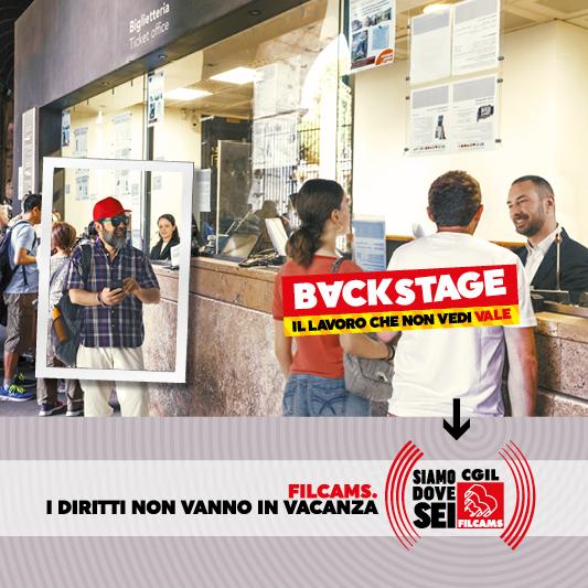 Redesign Agenzia Comunicazione Bologna campagna Filcams 2019