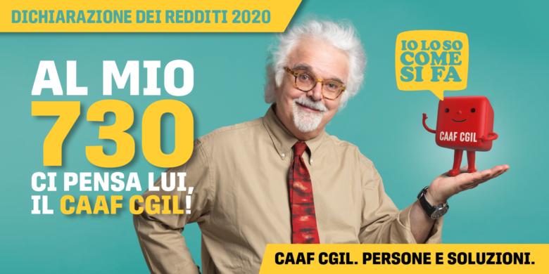 Redesign Agenzia Comunicazione CAAF Emilia-Romagna 2020