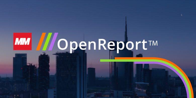 OpenReport di MM realizzato da Redesign Agenzia Comunicazione Bologna