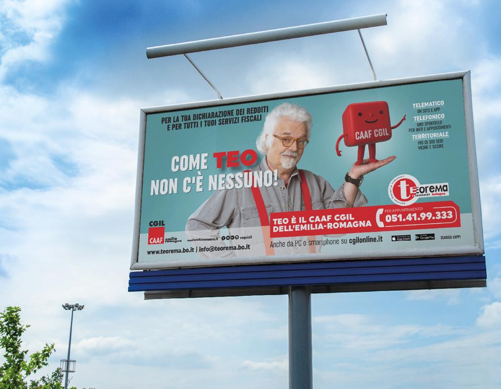 Manifesti stradali 730 2021 Redesign Agenzia Comunicazione Bologna