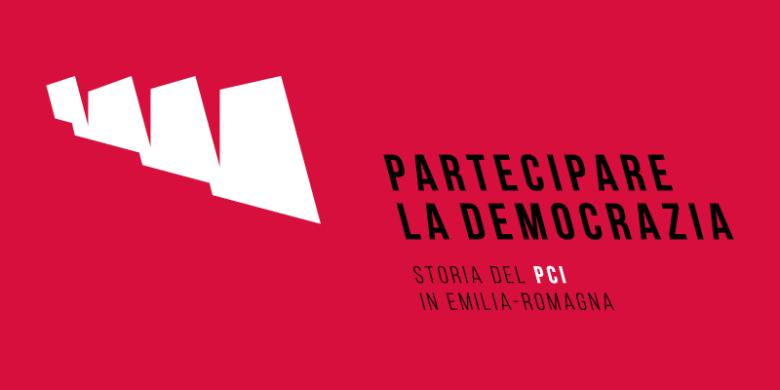 Logo mostra Storia del PCI - Redesign Agenzia pubblicitaria Bologna