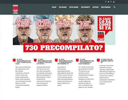 CAAF - 730 precompilato sito web