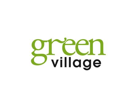 Logo green village