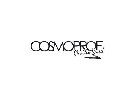 logo cosmoprof on the road