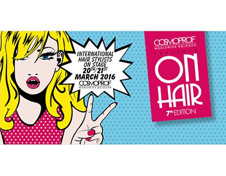 Cosmoprof on hair 2016 - Redesign agenzia di comunicazione Bologna