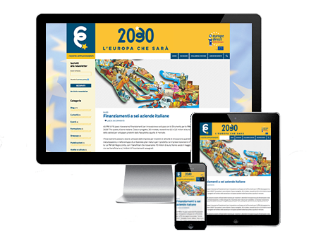 Logo Europa 2030 Redesign Agenzia Comunicazione Bologna