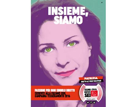 Filcams tesseramento 2016 - Redesign Agenzia Comunicazione Bologna
