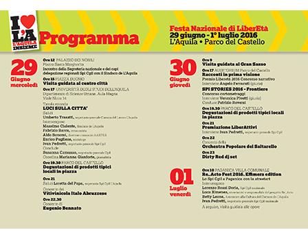 spi festa libereta 2016 logo - Redesign Agenzia Comunicazione Bologna