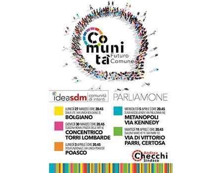 Idea SDM - Andrea Checchi - Sindaco di Sandonato Milanese - Redesign agenzia di comunicazione Bologna