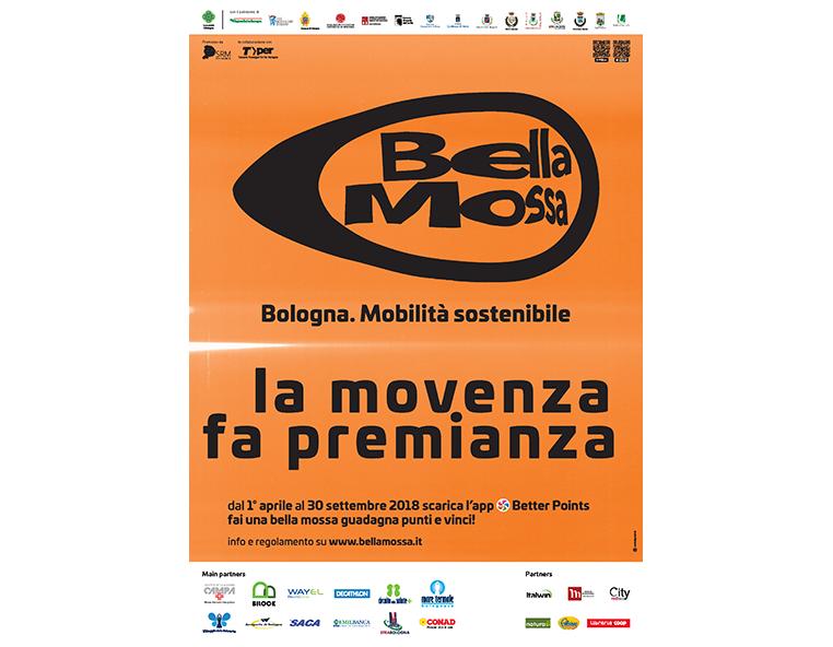 Bella Bella mossa - Bologna. Mobilità sostenibile - Redesign Comunicazione Bolognamossa - Bologna. Mobilità sostenibile - Redesign Comunicazione Bologna