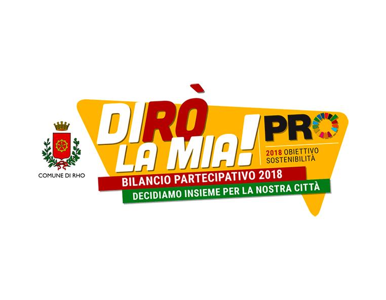 Dirò la mia comune di Rho - Redesign agenzia di comunicazione Bologna