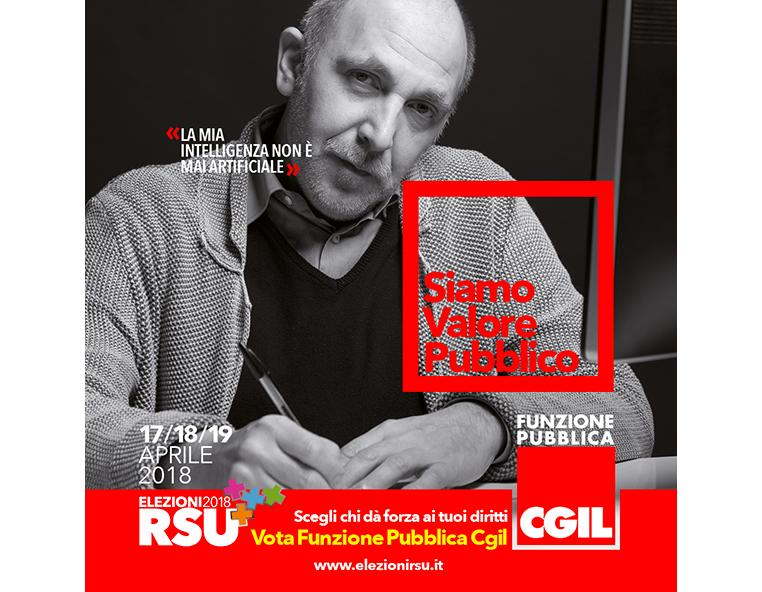 FP CGIL - Elezioni RSU 2018 - - Redesign agenzia di comunicazione Bologna