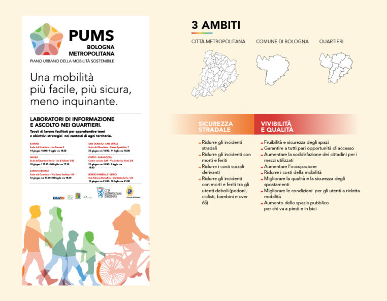 PUMS Bologna Redesign Comunicazione