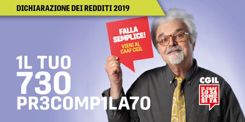CAAF CGIL Emilia-Romagna 2019 Redesign Agenzia Comunicazione Bologna