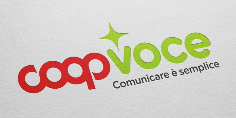 CoopVoce Logo Redesign Agenzia Comunicazione Bologna