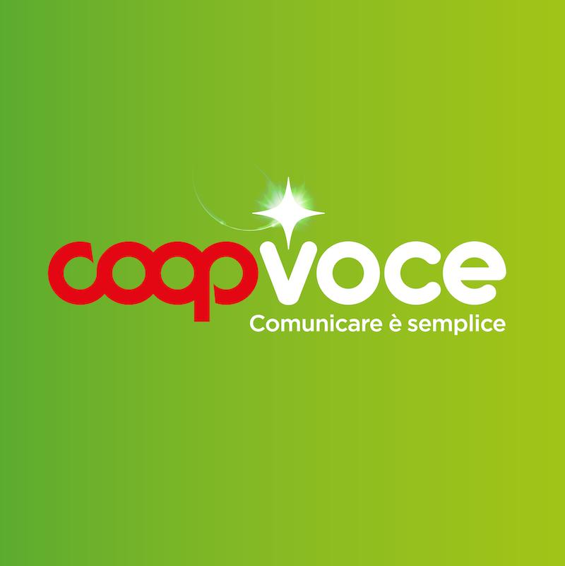 Logo CoopVoce Redesign Agenzia di Comunicazione Bologna