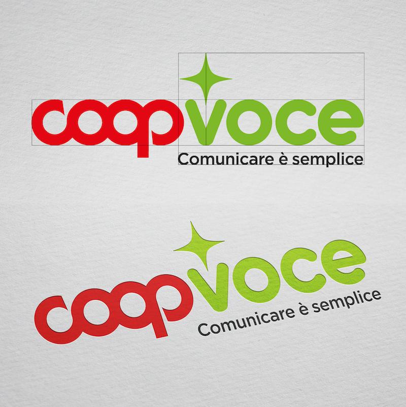 Nuovo Logo CoopVoce Redesign Agenzia di Comunicazione Bologna