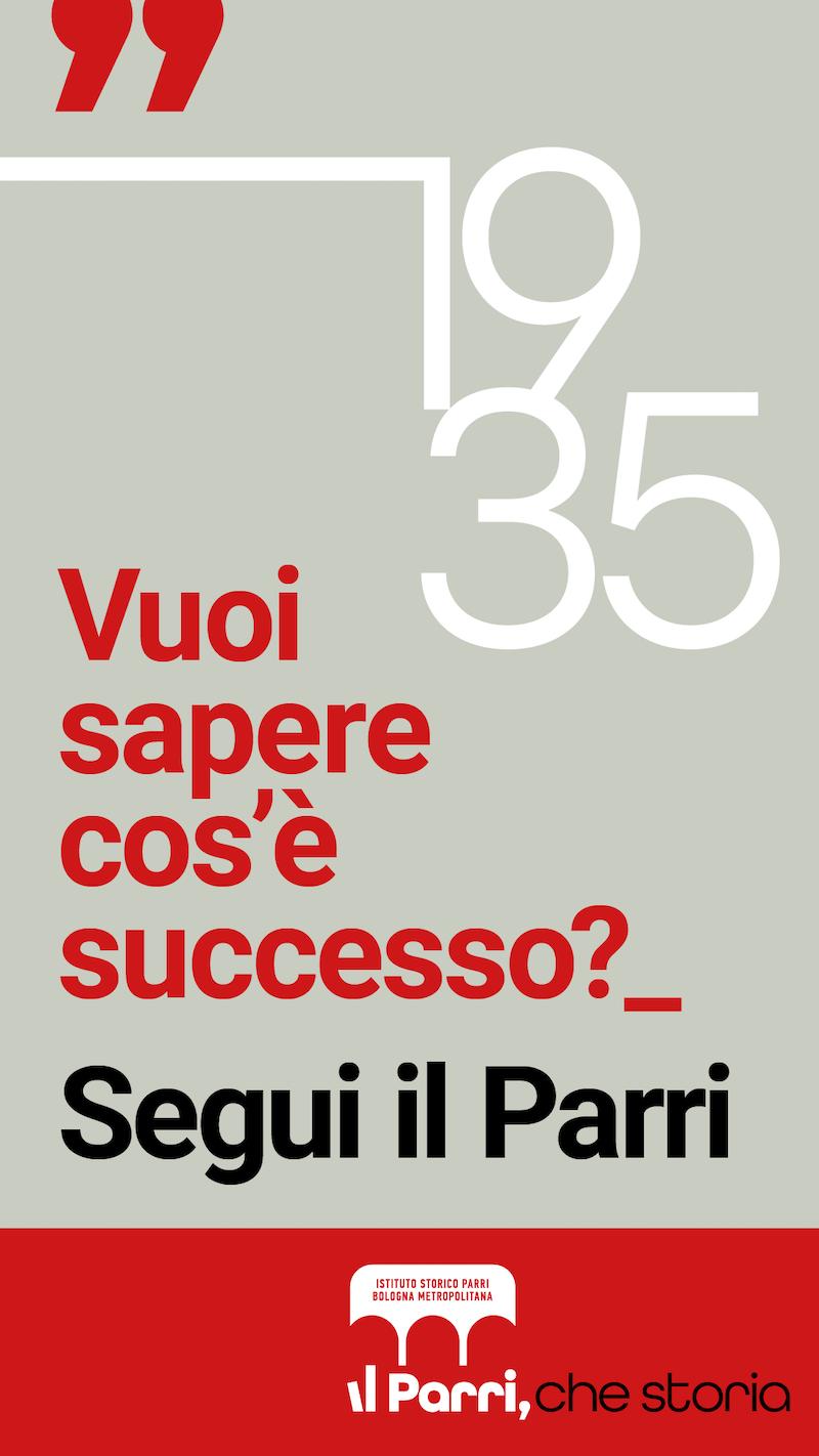 Parri. Che Storia. Redesign Agenzia Comunicazione Bologna
